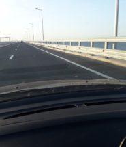 Крымский мост после открытия