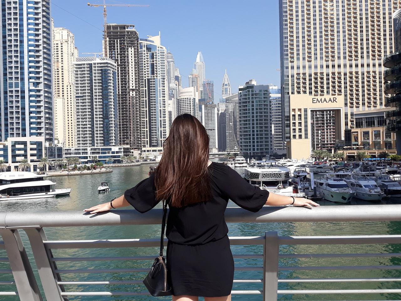 Набережная Дубай Марина