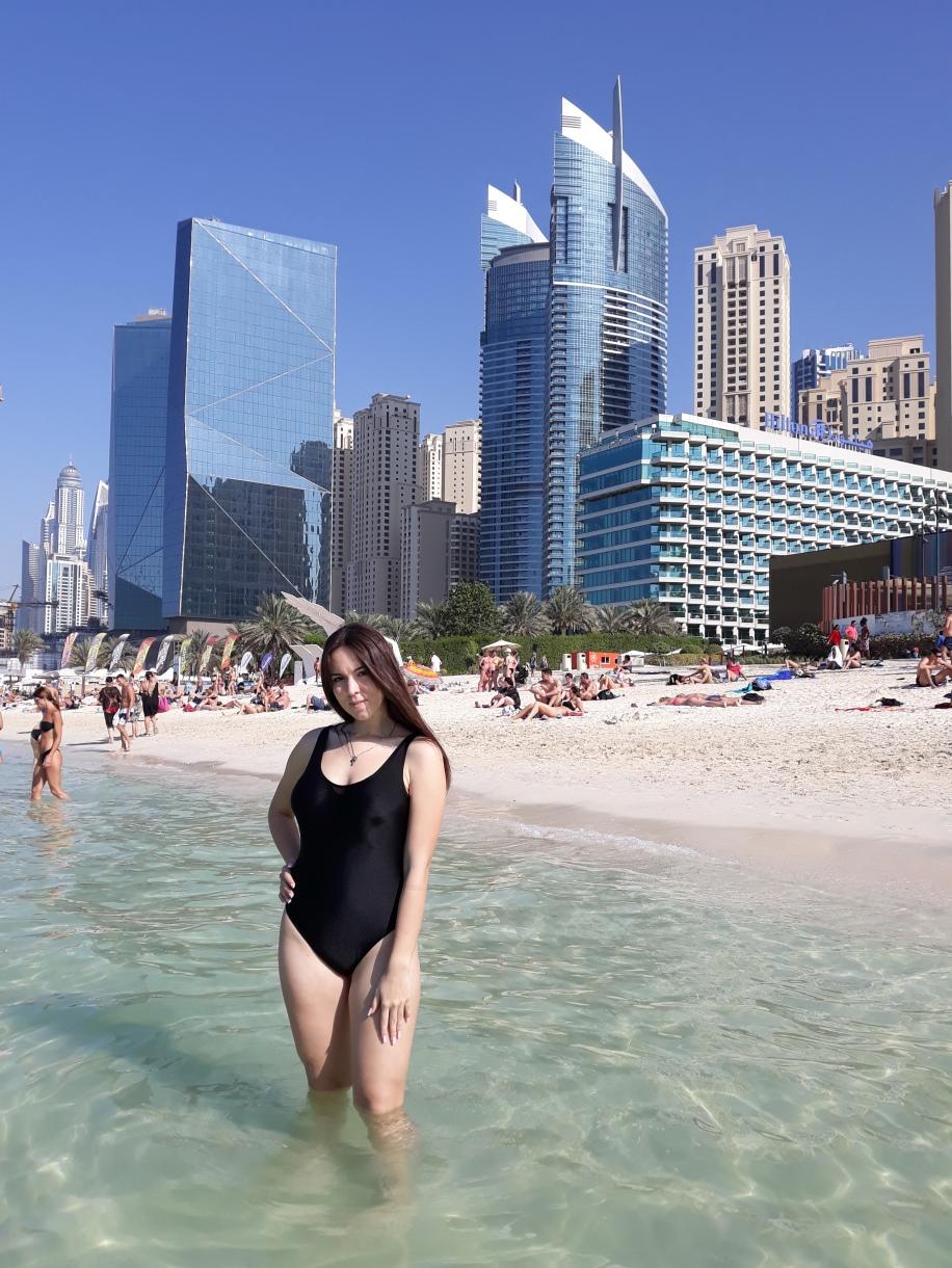Пляж Дубай Марина Марина бич